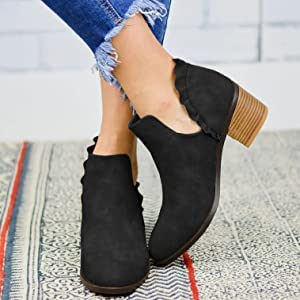 Ankle booties for women