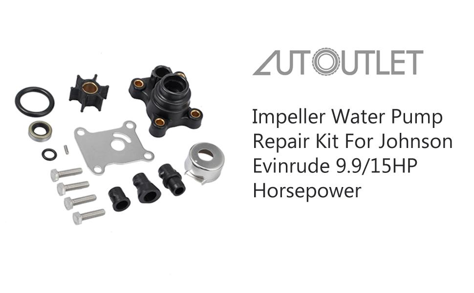 Impeller Water Pump Repair Kit