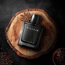 Villain black perfume