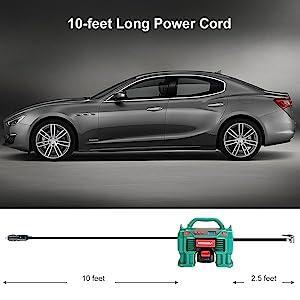 long power cord