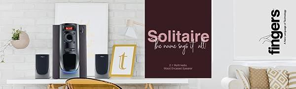 FINGERS Solitaire Speaker