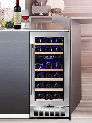 built in wine refrigerator wine fridge