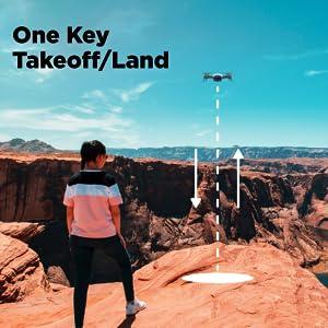 one key takeoff drone