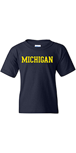 NCAA Basic Block Youth Short Sleeve T Shirt