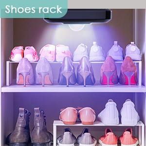 sterilizing your shoes rack and wardrobe