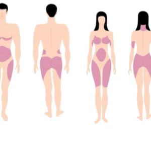 Estrogen Dominance Fat Storage Hormone Balancing Supplement Infographic
