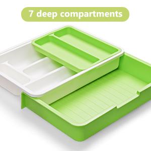 7 deep compartments