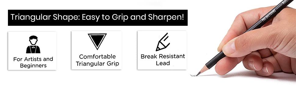 SMOOTH GLIDE GRAPHITE LEAD premium grade graphite lead delivers impressive results. Pencil Buddies