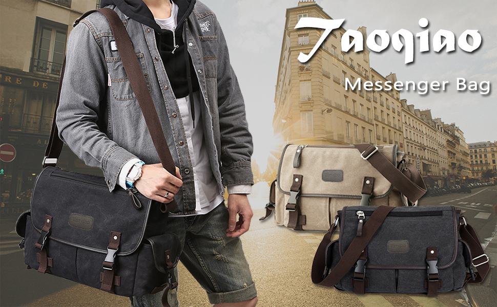 Taoqiao messenger bag