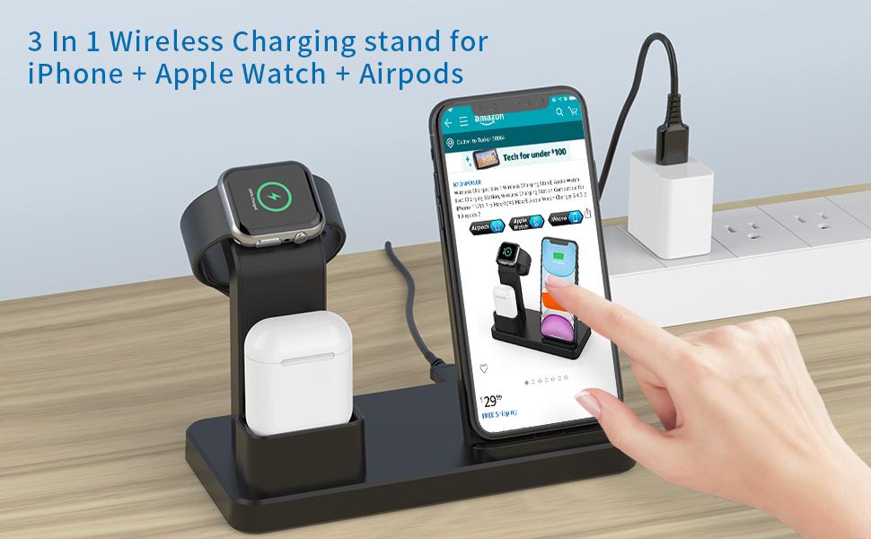 wireless charging dock