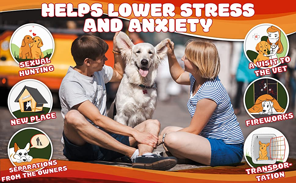 Hemp Dog Chews and Calming Treats for Dogs with Anxiety and Stress - Natural Calming Aid- Separation