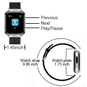 Details about  /Voice Recorder Bracelet 32GB Digital Voice Activated Recorder with Playback//20H
