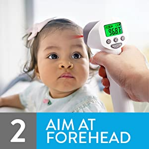 temperature gun for babies