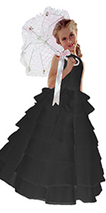 black, wedding, dress, formal, dressy, party, holiday, easter, communion