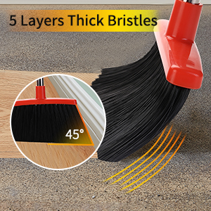 5 layers thick bristles
