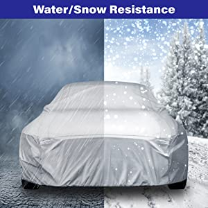 icarcover water snow resistance