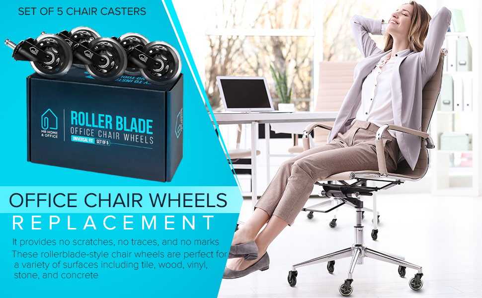Replacement Office Chair Wheels