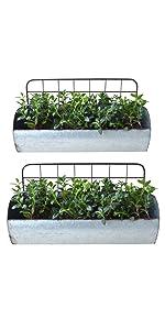 Kitchen storage organization accessories galvanized metal wall storage holder galvanized tin shelves