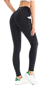 Amazon.com: HOFI Womens High Waist Yoga Pants with Pockets ...