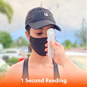 1 second reading