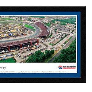 New Hampshire Motor Speedway with select frame
