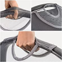 open flap for handle