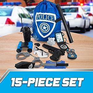 IPIDIPI TOYS Police Officer Role Play Kit