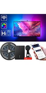 smart color picking tv backlights