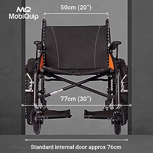 "G explorer seat size 20"" 50 cm large"
