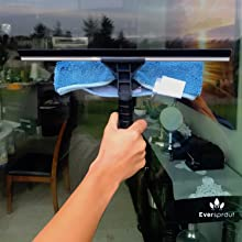 eversprout squeegee with extension pole
