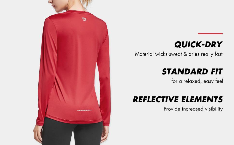 athletic long sleeve dri fit shirts