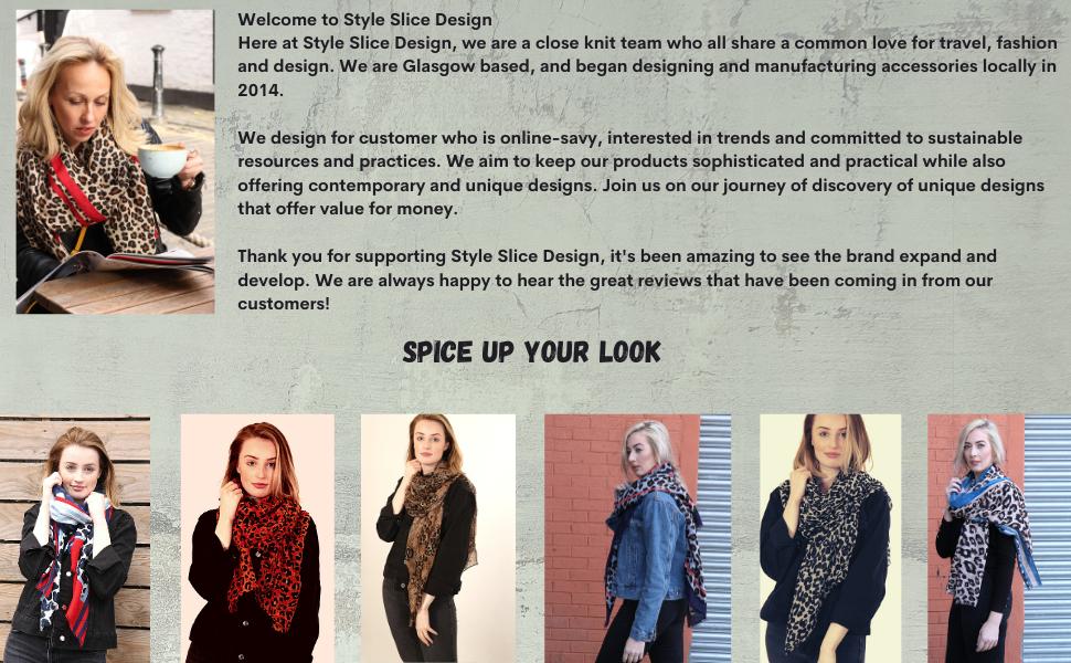 winter scarf ladies scarves trendy comfortable big long oversize shawl wrap shrug elegant cheetah
