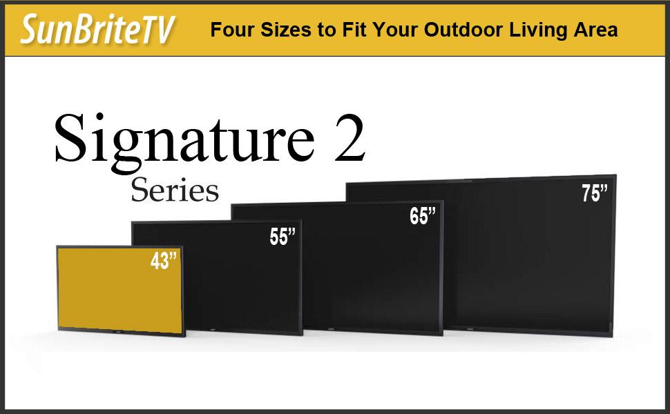 43 Inch Outdoor TV
