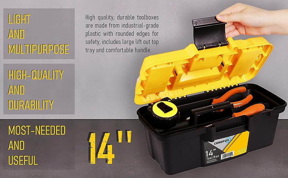 light heavy duty powerbox coolbox dealt walt truck job clasp oemtools storage mini toll stanley case