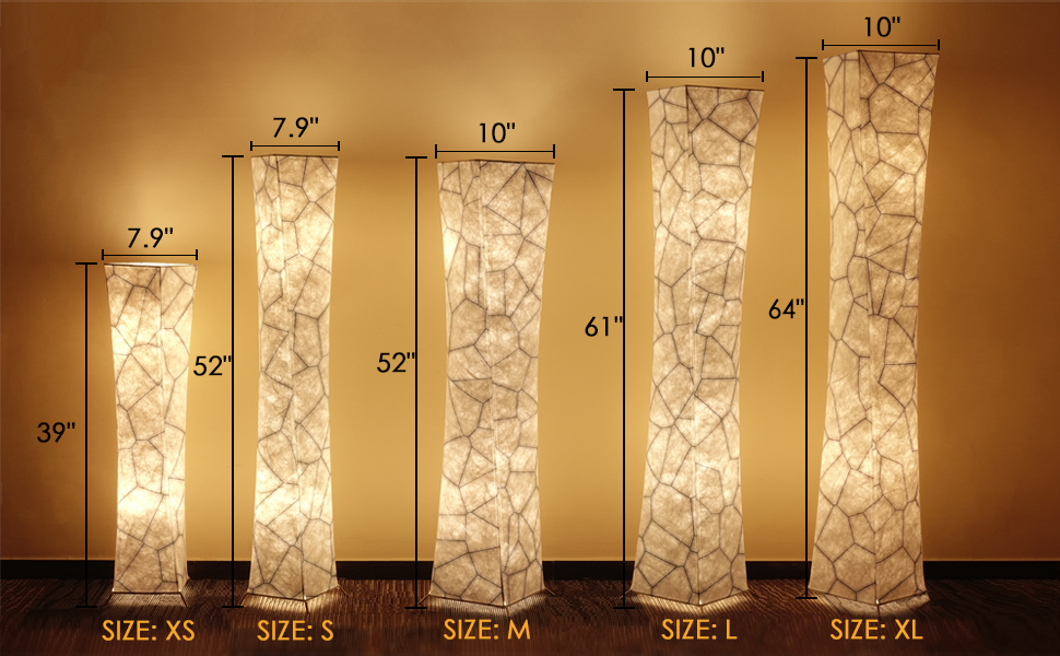 all size floor lamp