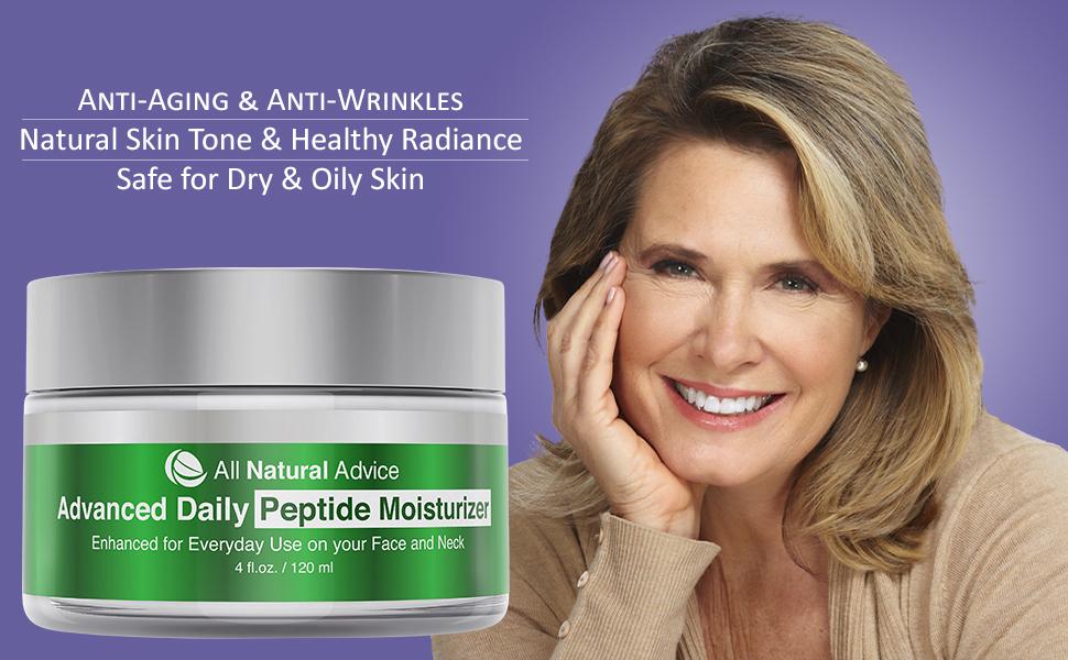 Peptide moisturizer