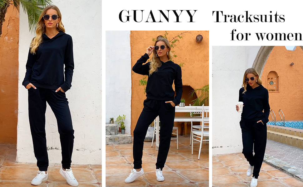 Women Sweatsuits Casual Tracksuits Activewear Sets -1