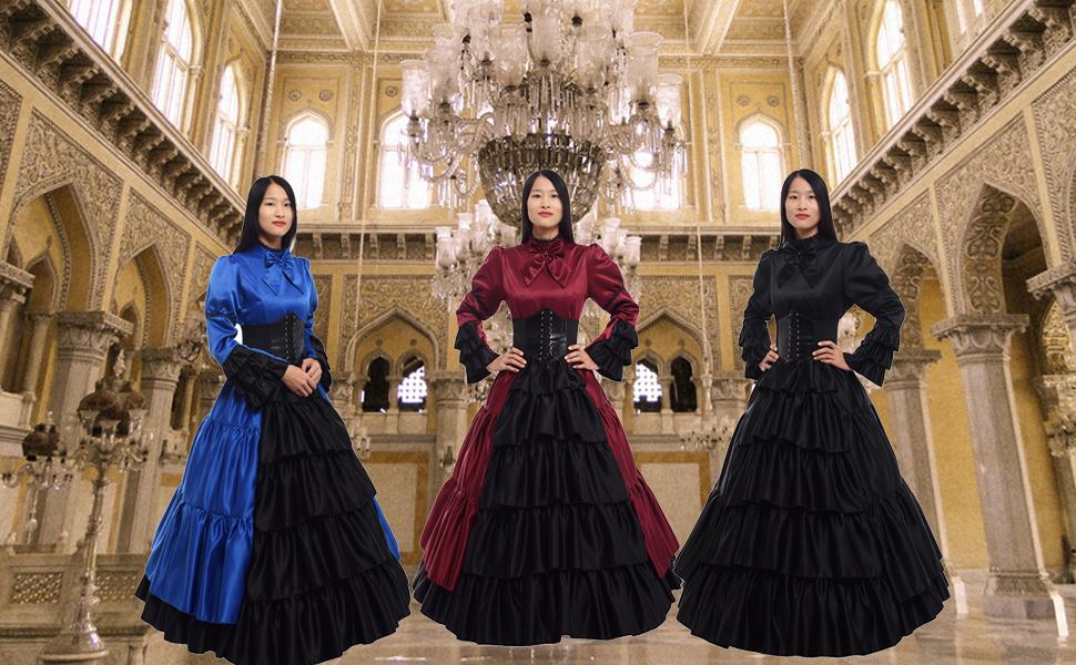 victorian dress ball gown