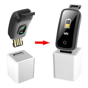 Ricarica USB& Batteria a lunga durata