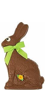 milk chocolate easter bunny bunnies basket