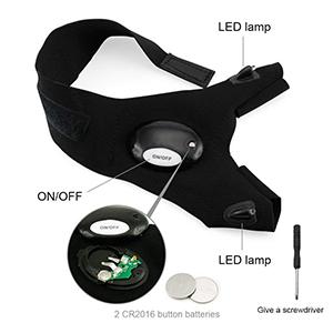 NOSUBO LED Flashlight Gloves