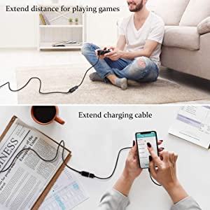 USB 2.0 Extension Cable Male a to Female a for Printer/PC/External Hard Drive