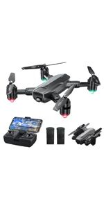 DF01 Foldable Drone with Camera for Adults