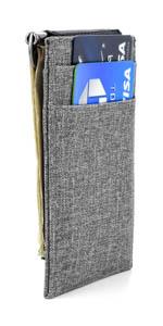 El Ryd con el clip de efectivo sostiene 4 ranuras para tarjetas de crédito por Dockem