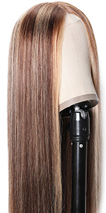 lace part highlight straight wig
