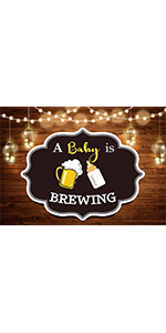 A Baby is Themed Photography Backdrop 5x3ft Photo Booth Studio Props Supplies