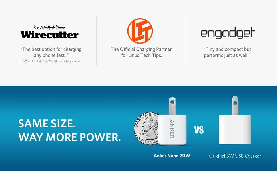 Anker PowerPort PD Nano 20W USB-C Adapter 5