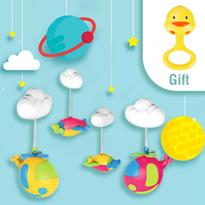 Crib Mobile Baby Crib Toys -6