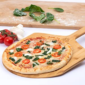 Pizza Stone and Paddle