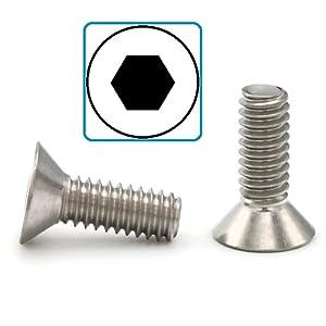 flat socket head screws